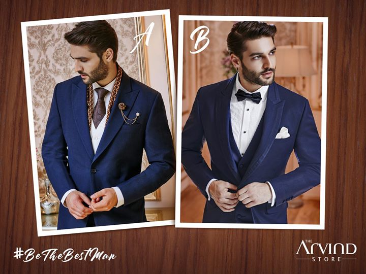 Embrace the spirit of the occasion and make an arresting impression by looking dapper. #BeTheBestMan and tell us which one of these outfit would you select for yourself and why? #ContestAlert #LeagueOfBestMan  Rules to Participate - 1 - Like & Share the Page 2 - Like & Share every post of #BeTheBestMan contest