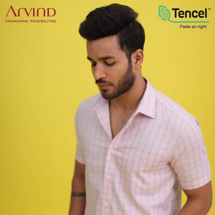 The latest trend in the world of fashion is sustainable! Introducing Arvind in partnership with TENCEL™  #FeelGoodFashion, a more sustainable fashion choice for the men of today! An extremely durable fabric, these garments bring to you brilliant durability and bounce and withstand the wear and tear of regular usage much longer than any other fabric! It's time you make the switch to sustainable fashion!  Tag someone who would love feel-good sustainable fashion!  #Tencel #Arvind #TheArvindStore #ADArvindReaadytoWear #ArvindMensWear #ADSince1931 #MensFashion #SustainableFashion #SustainableLiving #ConsciousClothing #SustainableShirts  #Fashion #Menswear #Sustainability