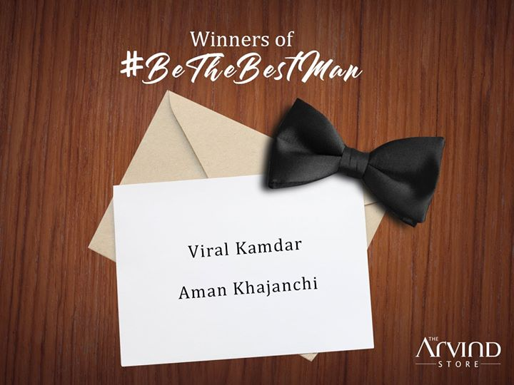 Congratulations on winning #BeTheBestMan contest! We are really overwhelmed with your exciting answers. DM us your complete details and we'll get in touch with you. #BeTheBestMan