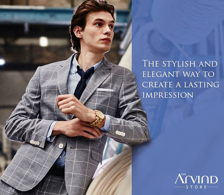 Are you ready to ace the dressing game at work? Visit the nearest Arvind store and get this look today: http://bit.ly/TASStoreLocator