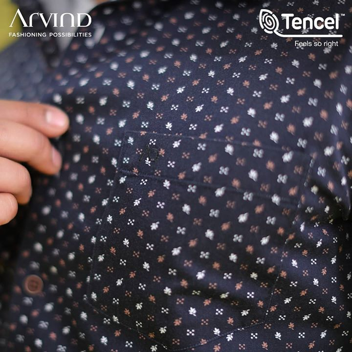Patterns and prints couldn't be richer! So choose a summer wardrobe that's light weight, durable and eco-friendly! TENCEL™ in partnership with Arvind brings to you a durable and sustainable clothing line that will make you look suave wherever you go! A fiber with a higher absorption ability, deeper and richer colours that are highly durable and sustainable at the same time. So look sharp and shop smart with the #FeelGoodFashion  Head to arvind.nnnow.com/ and check out the collection.  #FeelGoodFashion #Tencel #Arvind #TheArvindStore #ADArvindReaadytoWear #ArvindMensWear #ADSince1931 #MensFashion #SustainableFashion #SustainableLiving #ConsciousClothing #SustainableShirts  #Fashion #Menswear #Sustainability