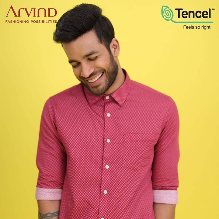 Nature inspires you to with prints and colours, it's now time to give back to Nature and it's time you made a bold fashion choice! The sustainable fashion choice from the house of Arvind #FeelGoodFashion in association with TENCEL™ fibers that are more absorbent giving you richer more premium color tones that not only make you look good but feel good.  Hurry up and fill your closet with sustainable styles, only at arvind.nnnow.com/ !  #FeelGoodFashion #Tencel #Arvind #TheArvindStore #ADArvindReaadytoWear #ArvindMensWear #ADSince1931 #MensFashion #SustainableFashion #SustainableLiving #ConsciousClothing #SustainableShirts  #Fashion #Menswear #Sustainability