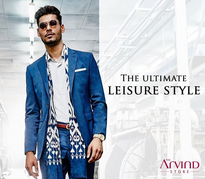 Pairing your crisp suit with a printed scarf is an impeccable style move. Head over to our store and shop the most stylish looks - bit.ly/TASStoreLocator