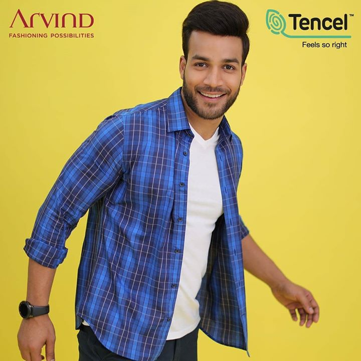 There's more to fashion than looking good and Arvind X TENCEL™  tells exactly that story. With a more sustainable outlook on fashion, this new collection of outfits from Arvind is made out of TENCEL™  fiber that is softer, light in weight and is super durable and what's more? It's eco-friendly too!  So go check out the latest collection and shop smart! https://arvind.nnnow.com/arvind-topwear?p=1&category=Shirts  #FeelGoodFashion #Tencel #Arvind #TheArvindStore #ADArvindReaadytoWear #ArvindMensWear #ADSince1931 #MensFashion #SustainableFashion #SustainableLiving #ConsciousClothing #SustainableShirts  #Fashion #Menswear #Sustainability