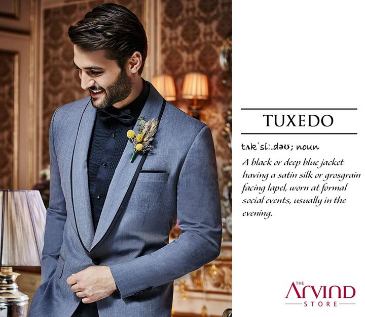 Be it a wedding or formal dinner, a Tuxedo will always give you the cutting edge you deserve. Don it for the next event and look dapper without trying hard.