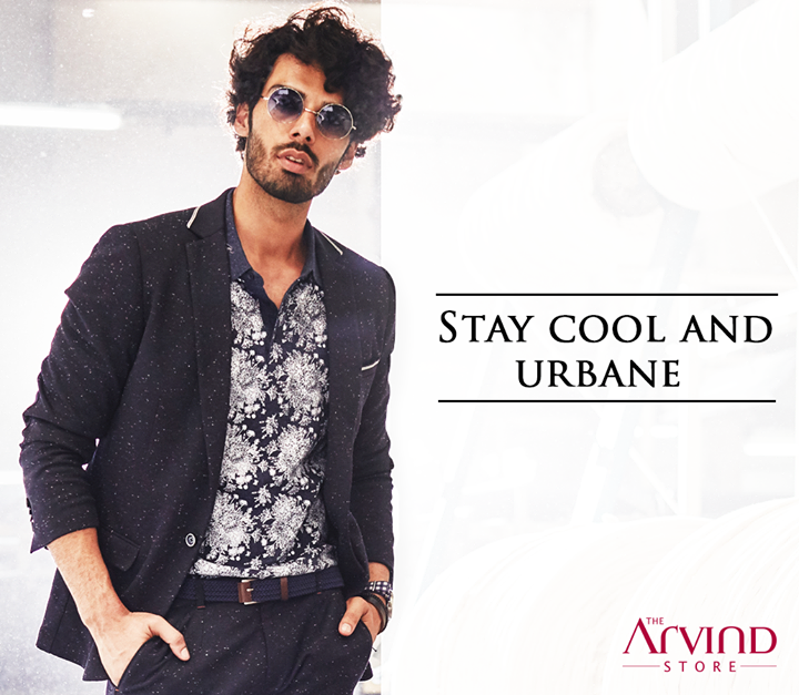 Beat the mid-week blues and keep things casual by donning this suit from our #ReadyToWear collection. Visit our stores today – bit.ly/TASStoreLocator