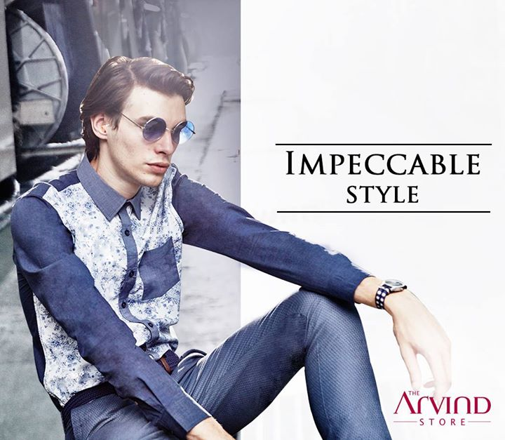 When it comes to casual clothing, this shirt from our #ReadyToWear collection is sure to make heads turn.