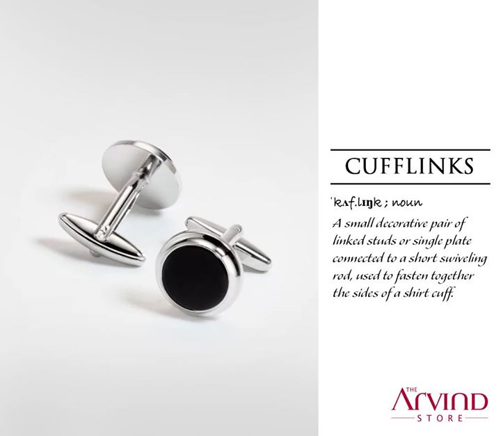 The versatile accessory, Cufflinks, blends perfectly and adds an ornamental value to the shirt for you to shine in style.