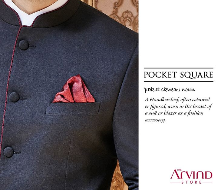 The Pocket Square, not only earns you ample style points but also adds a touch of elegance to your ensemble.