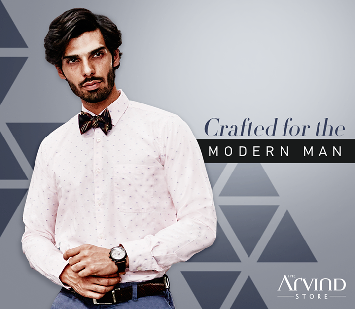 This printed shirt is the perfect blend of our rich legacy and innovation in fashion. Visit our stores today - bit.ly/TASStoreLocator