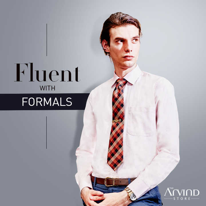 Comfort tops our list when we bring together our range of formal shirts. Try this shirt at your nearest #TheArvindStore bit.ly/TASStoreLocator