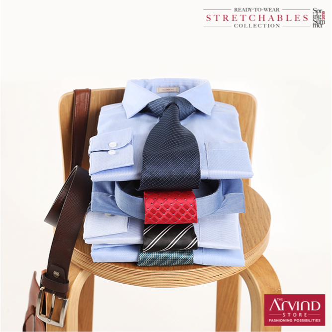 All work and no wrinkles!  Anti wrinkle work shirts from Arvind #ReadyToWear. Easy care technology that keeps you looking smart and suave through the day! Sign up to get a gift voucher worth Rs. 1000: https://bit.ly/2wPLbtJ T&C Apply. #ArvindReadyToWear #MensWear #AntiWrinkleShirts