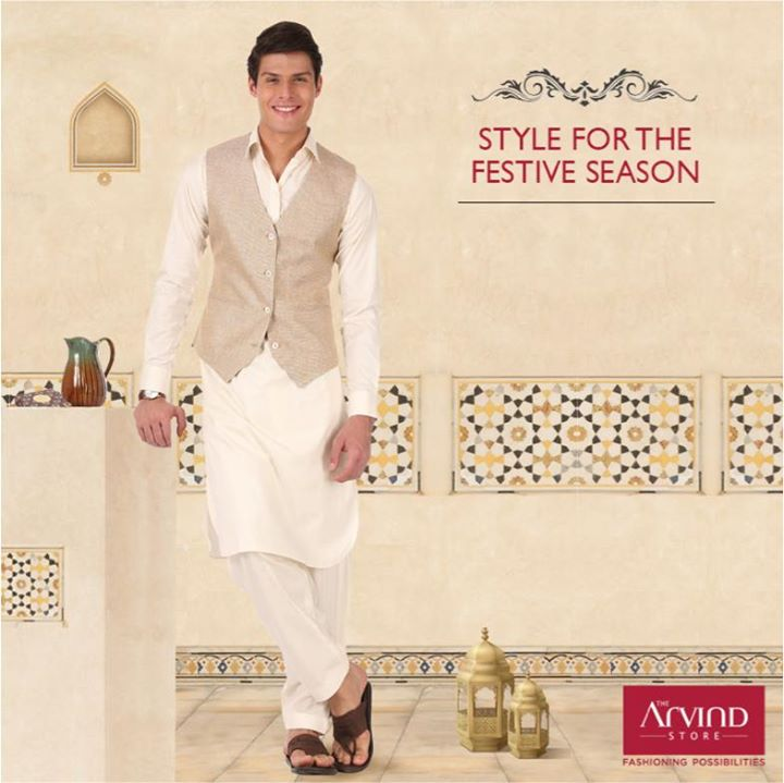 Ethnic styles befitting the festive occasion!  Come shop for festive linen range of custom-made bundis, kurtas and more.  Get Gift Voucher worth Rs.500  Book an appointment: http://bit.ly/TASBookAnAppointment