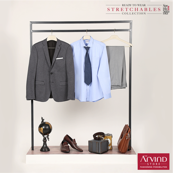 Choose comfort and sophistication with the Arvind travel blazer. #ArvindReadyToWear #MensWear #TravelWear  #WorkWear Sign up to get GV worth Rs. 1000 - https://bit.ly/2wPLbtJ T&C Apply.