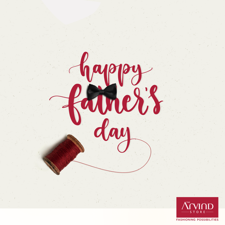 In between imitating his fashion choices to actually buying him a nice shirt from our own salary, we all grew up! Thank you for helping us become the perfect gentleman by being our constant fashion consultant. Happy #FathersDay