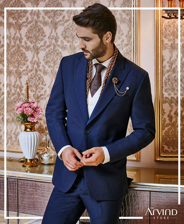 Fabulous fashion and sleek style, that's what this timeless premium poly wool 3 piece lapel suit offers.  Show off your confidence effortlessly with our latest ceremonial wear collection.   Visit our nearest store today: bit.ly/TASStoreLocator