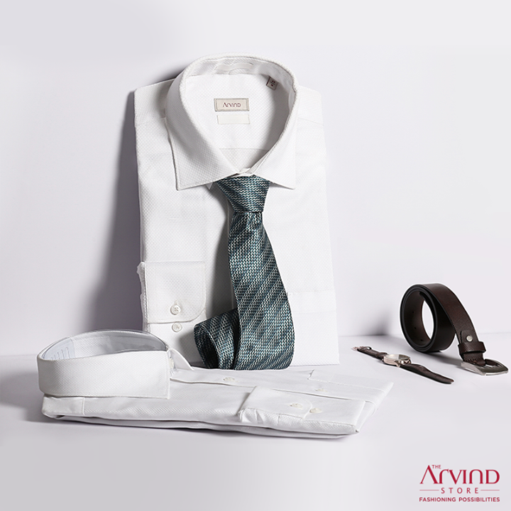 Button up, tuck in and get ready for office with our insanely comfortable #ReadyToWear formal collection.   Visit the nearest Arvind store to get your pick: bit.ly/TASStoreLocator