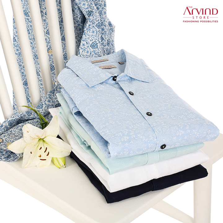 Show off your trendsetting style with our after-hours collection and stand out from the crowd.   Head to the nearest Arvind store to explore our exclusive collection: bit.ly/TASStoreLocator