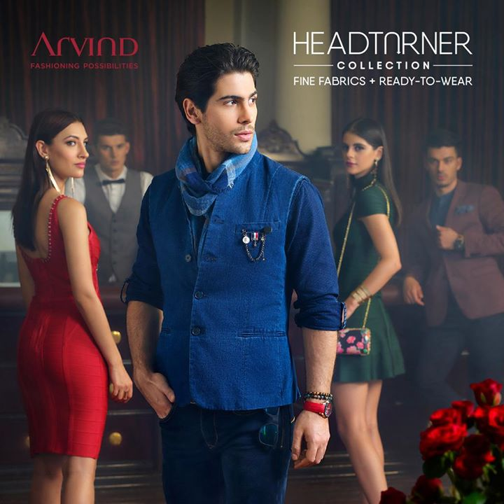 What happens when denim gets a dapper facelift? You start getting everyone's attention, every time you don it. Part of #latestfromArvind #HeadTurnerCollection #AW18 #menswear, these dressy denims need to be in your wardrobe. Check 'em out right here: https://bit.ly/2geFHkt, and arvind.nnnow.com