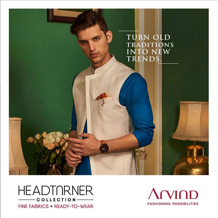 Style doesn't get more timeless than this bandhgala Bundi Jacket paired with a simple but stunning kurta. It's as classic as you. Shop more like this here: https://bit.ly/2geFHkt or shop online at https://arvind.nnnow.com/