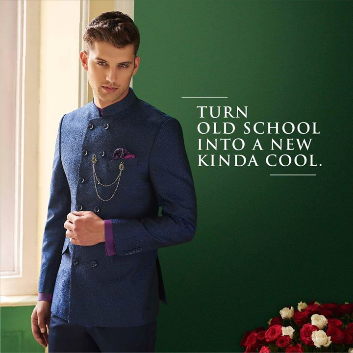 Jacquard gets a sparkling new twist. Crisp tailoring, sharp cuts define the Bandhgala Jodhpuri suit that will really make you the reason to celebrate, this festive season. Check out more like this here: https://bit.ly/2geFHkt or shop online https://arvind.nnnow.com/.