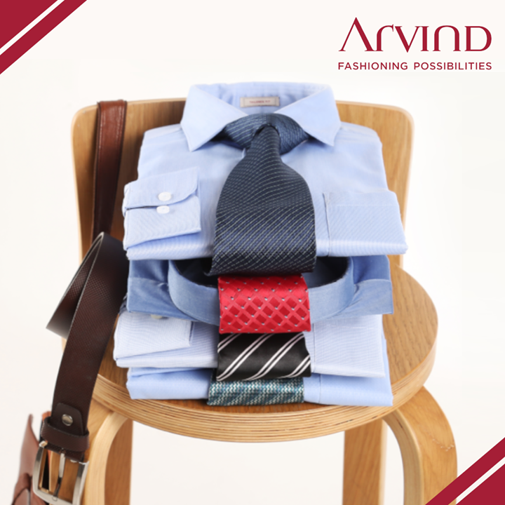 Worried if it's creased? Why not try our hassle-free, easy care Wrinkle Free Dobby Shirt and make a statement? Shop these smarties here: https://arvind.nnnow.com/ or visit our stores: https://bit.ly/2geFHkt.