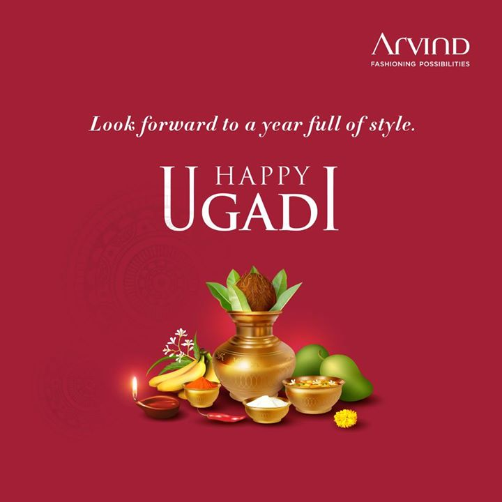 A grand celebration deserves a grand style. Happy Ugadi from all of us at Arvind.