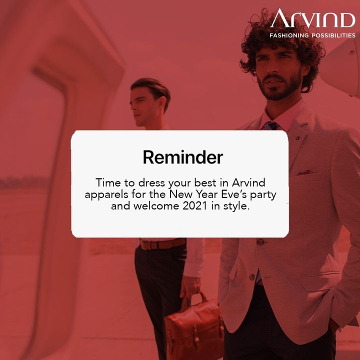 AD wishes everyone a very Happy New Year, dress your best no matter the occasion!  #HappyNewYear
