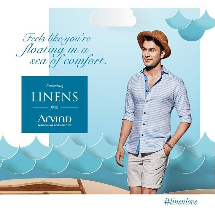 Want to know the secret to staying cool no matter how hot it gets? Check out Linens from Arvind. It's all you need to look suave in summer. #LinenLove   #ArvindFashioningPossibilities #SS19 #Menswear#SpringSummerCollection #Linen