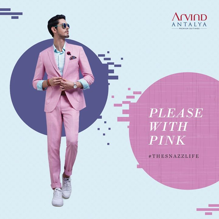 Be bold with colour and live up #TheSnazzLife only in Arvind's range of Antalya suits.   #ArvindFashioningPossibilities #menswear #mensuits #menstyle #Antalya