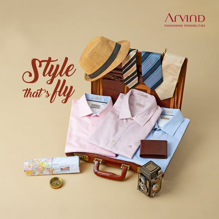 Look your best on your business trips with the stylish Arvind Collection! #ArvindFashioningPossibilities #workwear #workstyle #workfashion #fashioninspiration