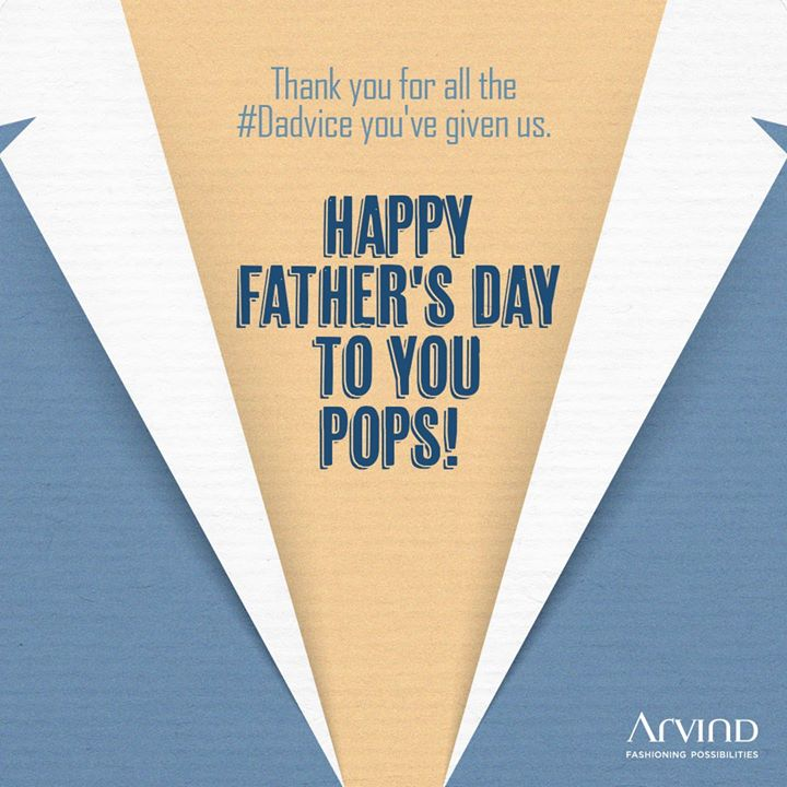 #happyfathersday to all you wonderful pops out there! We hope that your #dadvice never ends. We're truly grateful for it!