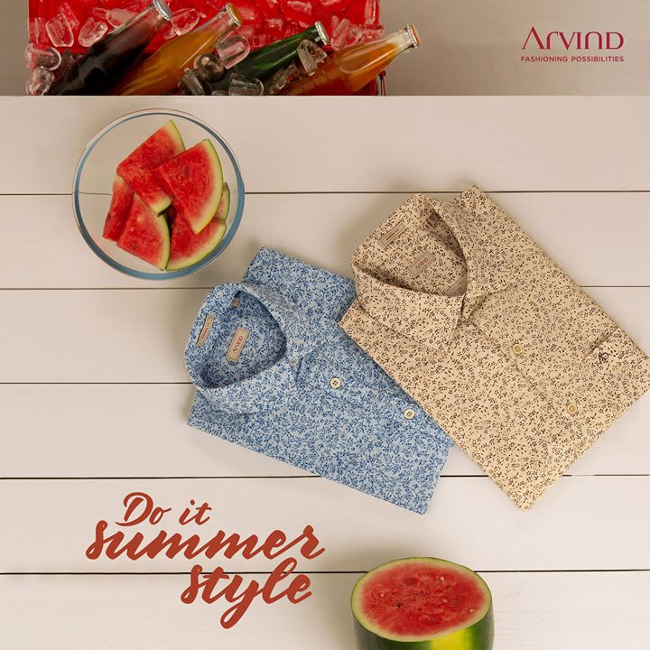 Less monday and more summer in Arvind style!   #LinenLove #ArvindFashioningPossibilities #Linen #summer #ReadyToWear