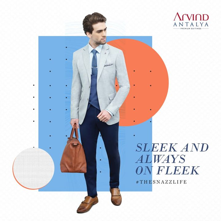 Get your suit game on with Arvind's Anatlya Collection!  #TheSnazzLife   #ArvindFashioningPossibilities #menswear #mensuits #menstyle #Antalya