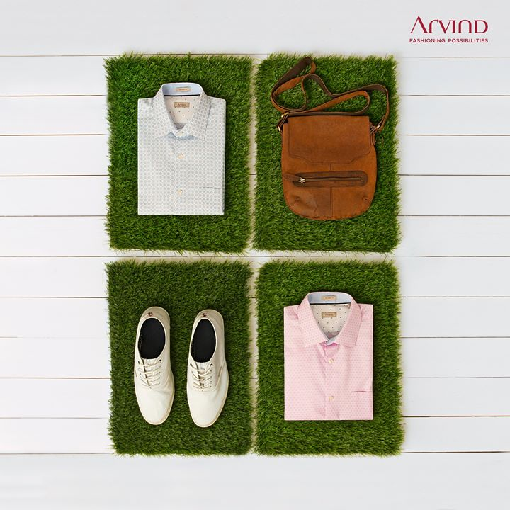 Don't let your summer vibe die. Ease into our Tencel range and keep riding the cool wave.   #ArvindFashioningPossibilities #Summer #Tencel #ReadyToWear