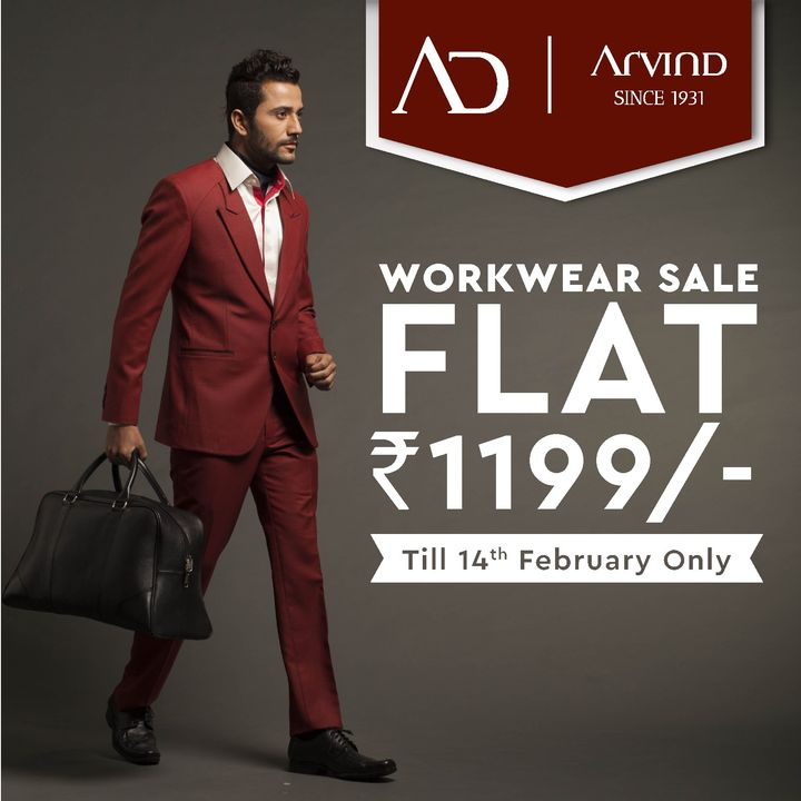 Choose from a wide range of readymade workwear from AD by Arvind, designed for absolute comfort at Flat Rs.1199.  Shop now at arvind.nnnow.com . . . #ADfashion #ArvindFashion #TheArvindStore #Workwearsale #2021sale #workwear #formals #discounts #Menswear #MensFashion #Fashion #style #comfortable #classicmenswear #texturedfabrics #firstimpressions #dressforsuccess #StayStylish