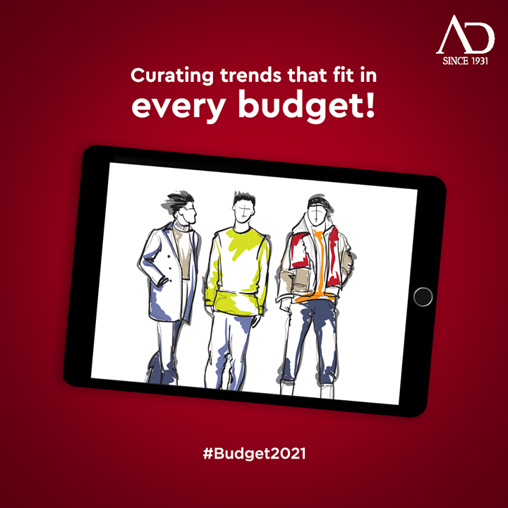 New budget, new trends with AD fashion! . . . #ADfashion #ArvindFashion #TheArvindStore #MensFashion #Fashion #StayStylish #budget #budget2021 #MadeInIndia