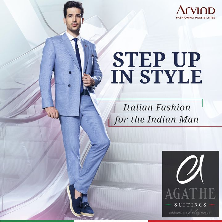 Bringing Italian Fashion to the Global Indian, Agathe by Arvind offers an exclusive range of lifestyle suiting fabrics, for bespoke trousers, suits & blazers that speak up for who you are, with an essence of elegance. . . . #ADfashion #ArvindFashion #TheArvindStore #ArvindFashioningPossibilities #Agathe #suitingcollection #formals #Menswear #MensFashion #Fashion #style #comfortable #classicmenswear #texturedfabrics #firstimpressions #dressforsuccess #StayStylish