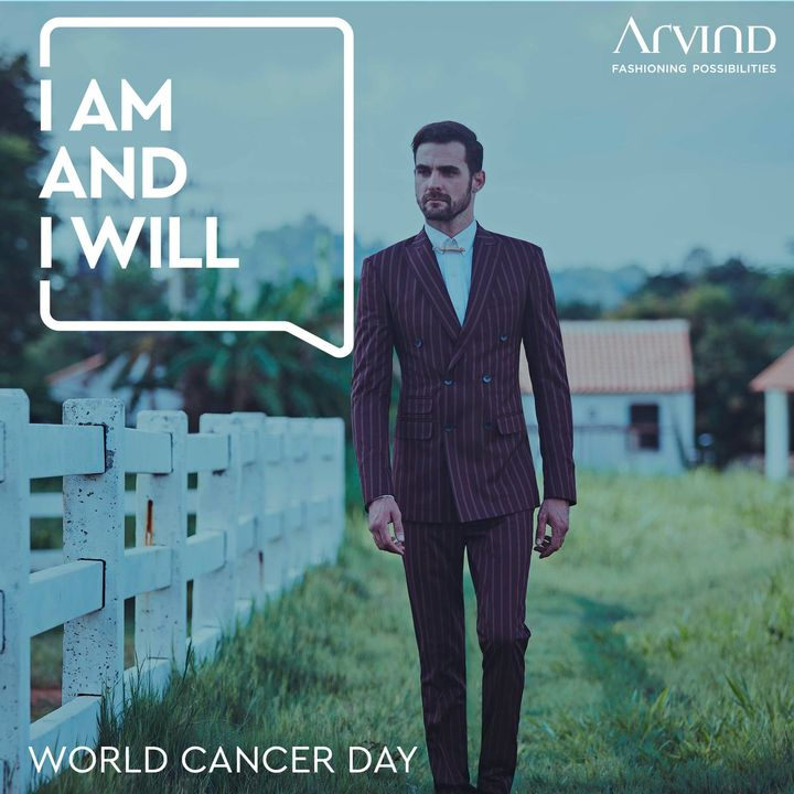 What you do and what you wear, both speak volumes about who you are. This World Cancer Day, you can say