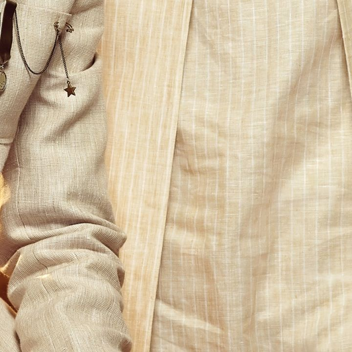 Tones of cream. The shine of gold. A celebration of style. . . . #TheFestiveEnsemble #menstrend #flatlayoftheday #menswearclothing #guystyle #gentlemenfashion #premiumclothing #mensclothes #everydaymadewell #smartcasual #fashioninstagram #dressforsuccess #itsaboutdetail #whowhatwearing #bespoketailoring #readytowear #madeinarvind #thearvindstore #classicmenswear #mensfashion #malestyle #authentic #arvind #menswear #linen #bandhgala