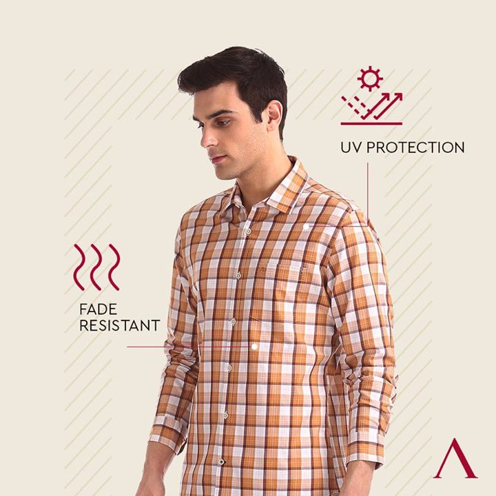Casual wear that fits right and stays right. We create clothing with smart technology that is fade resistant and UV safe. We make clothing that lets you be yourself. Feel free, be free! Buy Now - http://bit.ly/ArvindSlimFitShirt . . . #menstrend #flatlayoftheday #menswearclothing #guystyle #gentlemenfashion #premiumclothing #mensclothes #everydaymadewell #smartcasual #fashioninstagram #dressforsuccess #itsaboutdetail #whowhatwearing #thearvindstore #classicmenswear #mensfashion #malestyle #authentic #arvind #menswear #ReadyToWear #ClothingThatComforts #MadeByArvind #NoWrinkle #WrinkleFree #stretch #superstretch #uvresistant