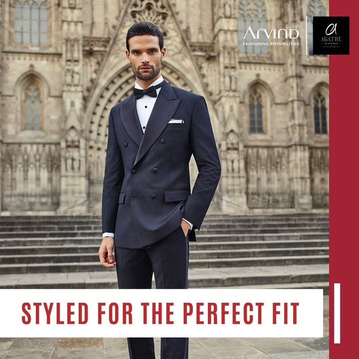 Getting the right fit makes a huge difference when you shop for clothes and that makes your look. Our collections are designed for you to find your perfect fit. . . . #ADfashion #ArvindFashion #TheArvindStore #Agathe #AgatheSuitings #ArvindFashioningPosibilities #LifestyleSuitingFabrics #suitingcollection #formals #Menswear #MensFashion #Fashion #style #comfortable #classicmenswear #texturedfabrics #firstimpressions #dressforsuccess #StayStylish