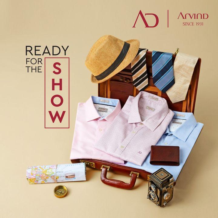 The show must go on.  #Arvind #ADbyArvind #Dapper #Menswear  #Readymade #ReadyToWear #StayClassy  #Style #ThursdayThoughts #FashioningPossibilities