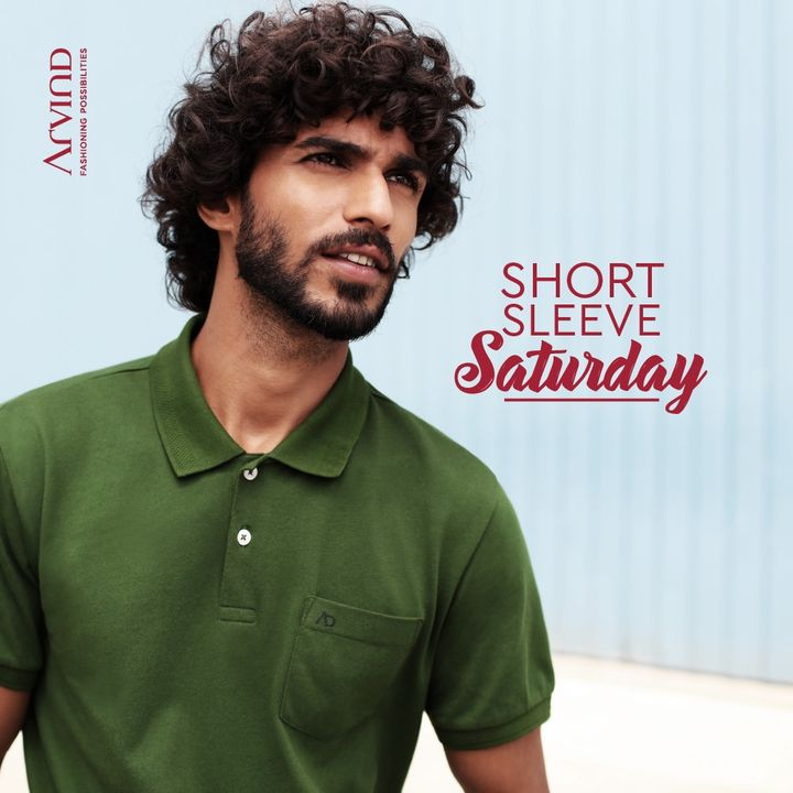 Dress up in style this #ShortSleeveSaturday  #Arvind #Menswear #StyleUpNow #Style #Dapper #StayClassy  #WeekendVibes #FashioningPossibilities
