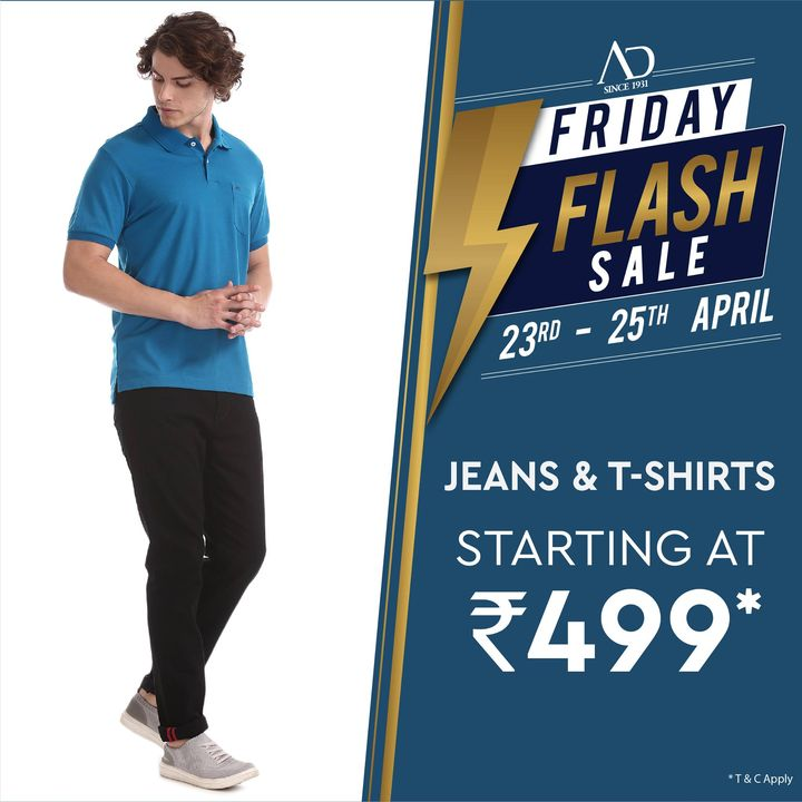 The Arvind Store,  ADbyArvind, ADfashion, FashioningPossibilities, FridayFlashSale, Menswear, StayStylish, Jeans, Tshirts, OfferAlert