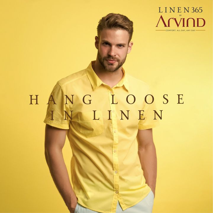 Go light this week and hang loose in linen.  #Arvind #Linen365 #Menswear #Fabrics  #StyleUpNow #Style #Dapper #FashioningPossibilities