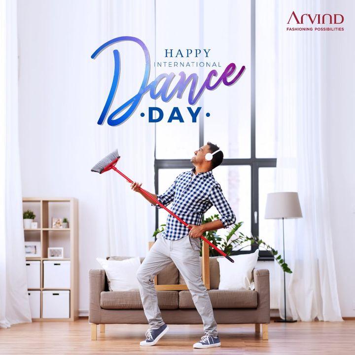 Happy International Dance Day. Bring in a new twist to work from home.   #InternationalDanceDay #DoTheDance
