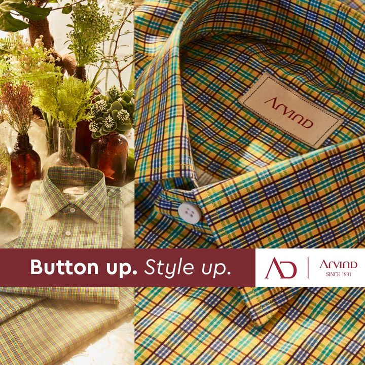 Your shirt says a lot about you!  #Arvind #ADFashion #ADbyArvind #Shirts #Style #Suave #Dapper #FashioningPossibilities