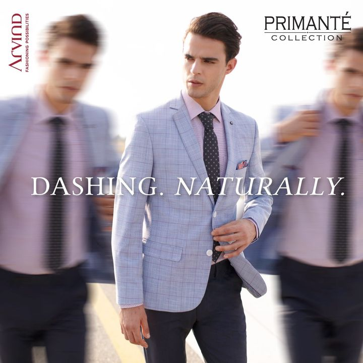 Stay true to your nature.  #Arvind #Primante #Menswear #Suits #Suave #Dapper #StyleUpNow #FashioningPossibilities