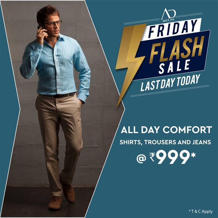 The Arvind Store,  OfferAlert, Arvind, ADbyArvind, Menswear, FlashFridaySale, WeekendVibes, Dapper, Fashion, Style, StyleUpNow, FashioningPossibilities
